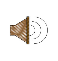 Sound music volume speaker stereo symbol vector