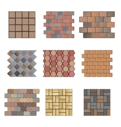 Paving stone vector image vector image