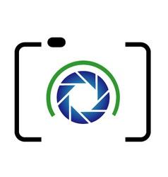 photography logo vector image vector image