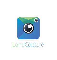 Apps photography logo icon abstract photography vector