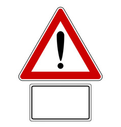 Attention sign with optional label vector