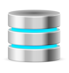 Data base icon vector image