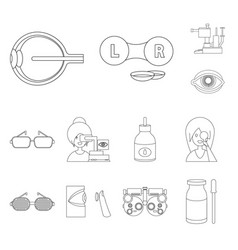 design medicine and technology icon vector image