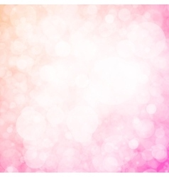 Pink abstract romantic background vector image