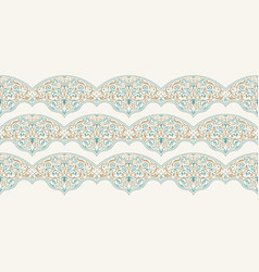 seamless pattern with art ornament for vector image