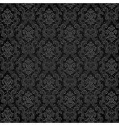 floral damask pattern for wedding invitation vector image