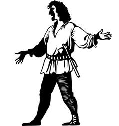 Lumberman vector image vector image