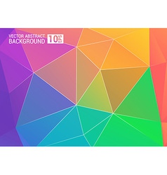 Colorful background color colorful rainbow vector image vector image