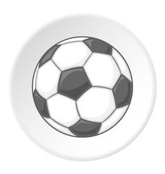 Soccer ball icon cartoon style vector image vector image