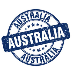 Australia stamp vector