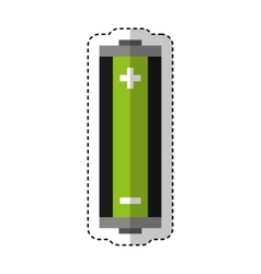 battery energy isolated icon vector image