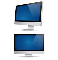 Desktop template vector
