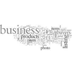 ebay business for newbies vector image