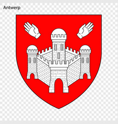 Emblem of antwerp vector