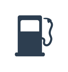 fuel icon on white background vector image