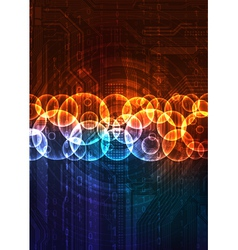 Futuristic design background vector