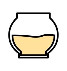 honey pot isolated icon design vector image