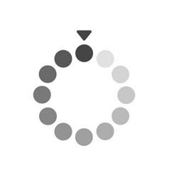 loading bar flat icon sign symbol vector image