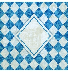 Oktoberfest retro background vector image