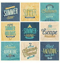 Summer set2 vector