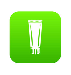 toothpaste icon simple black style vector image
