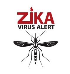 Zika virus alert vector