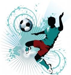soccer skill vector image