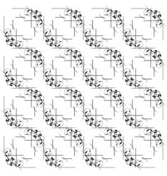 seamless beautiful monochrome pattern vector image