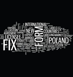 Fix a form goes east text background word cloud vector