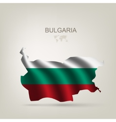 Flag of Bulgaria as a country vector image