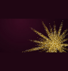 gold glitter luxury sparkling confetti scattered vector 24734977