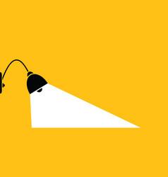 Hanging lamp comic brain electric lamps idea vector