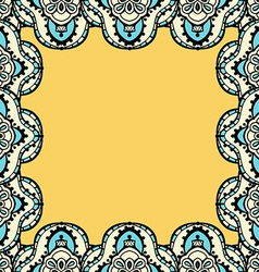 Mandala Frame Background vector