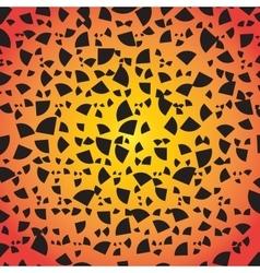Abstract Geometrical Design Quarter circular vector image vector image