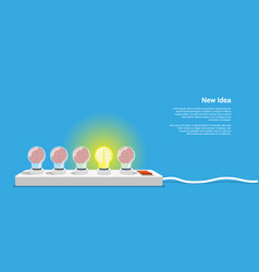 new idea concept vector image