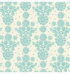 Floral in vintage style vector