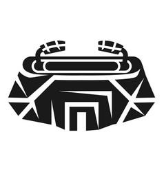 modern stadium icon simple style vector image