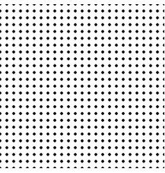 Polka dot pattern seamless black white texture vector