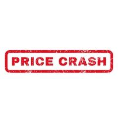 Price Crash Rubber Stamp vector