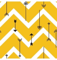Tribal arrows seamless pattern vector