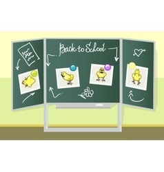 Green school boards vector image vector image