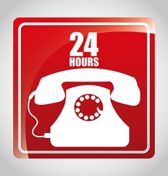 Telephone Design vector image vector image