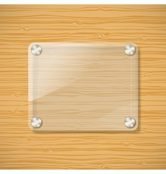 glass background vector image vector image