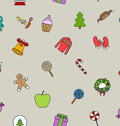 Candy on sticks holidays vector image