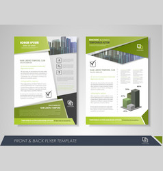 Creative corporate brochures vector