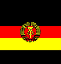 East germany vector