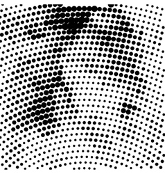 Halftone background EPS 10 vector image