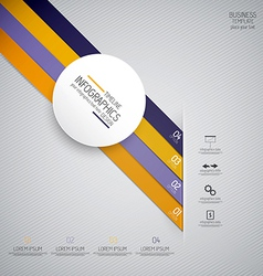 design infographics 4 vector image vector image