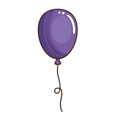 balloon air party decoration vector image