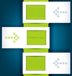 design elements for business vector image vector image
